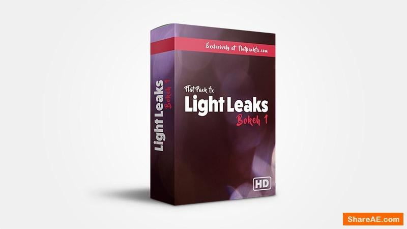 Flatpackfx Light Leaks Bokeh Pack - Motion Graphic