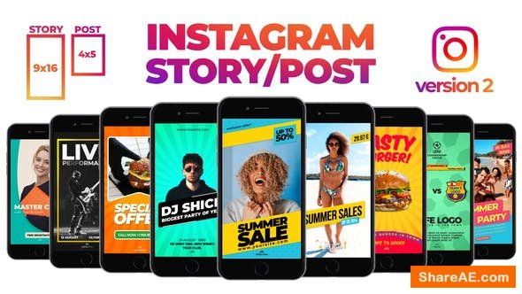 Videohive Fresh Instagram Stories