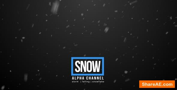 Videohive Snow - Motion Graphic
