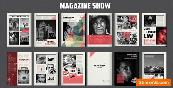 Videohive Magazine Show