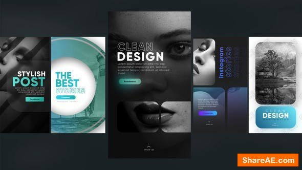Videohive Instagram Stylish Stories