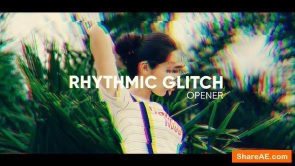 Videohive Rhythmic Glitch Opener