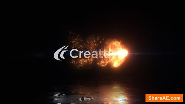 Videohive Magical Fire Reveal