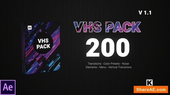 Videohive VHS PACK