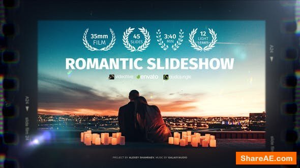 Videohive Romantic Wedding Slideshow