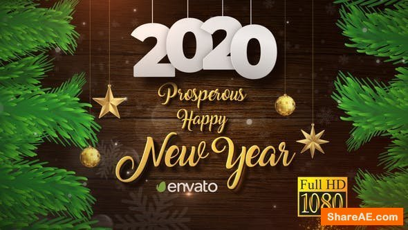 Videohive Christmas and New Year Opener 2020
