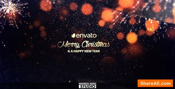 Videohive Christmas Slideshow 18627388