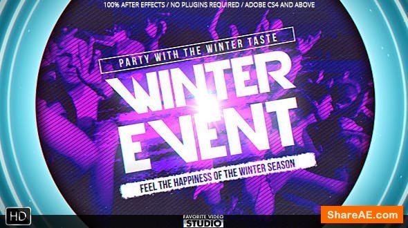 Videohive Winter Music Afterparty