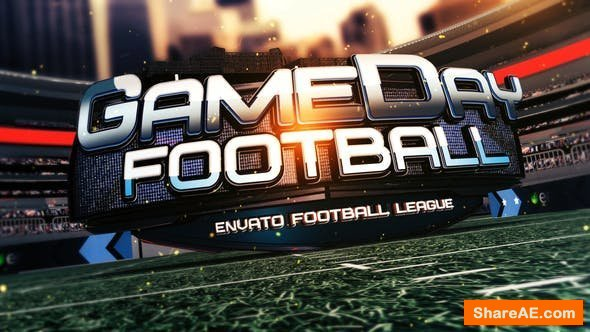 Videohive Football Gameday Opener