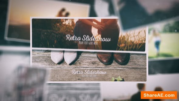 Videohive Retro Slideshow 23249286