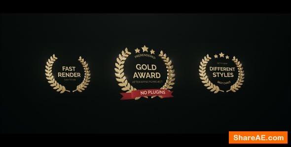 Videohive Golden Award 16995059
