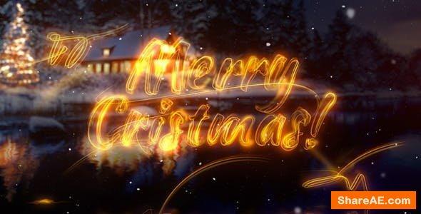 Videohive Christmas Greetings 13711171