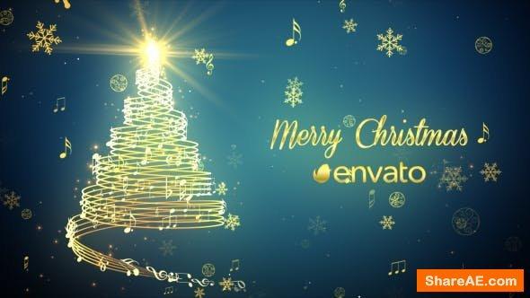 Videohive Musical Christmas