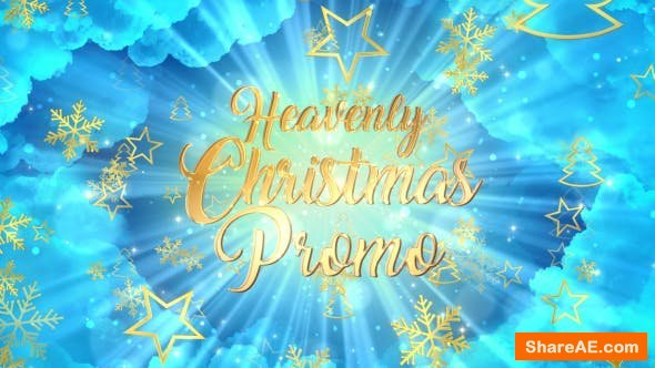 Videohive Heavenly Christmas Promo