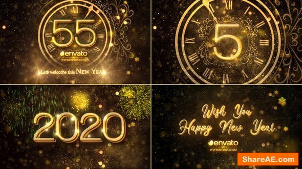 Videohive New Year Countdown 2020 23016448