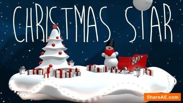 Videohive Christmas Star