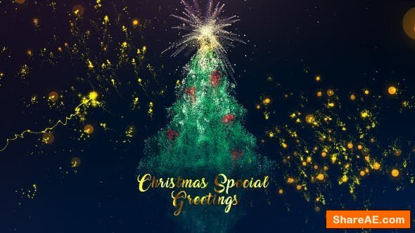 Videohive Christmas Special Greeting