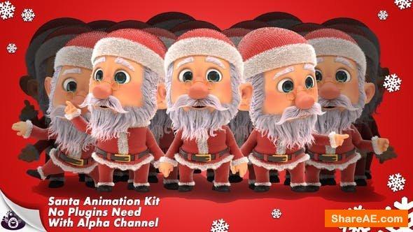 Videohive Santa - Character Animation Kit