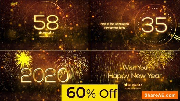 Videohive New Year Countdown 2020 25174445
