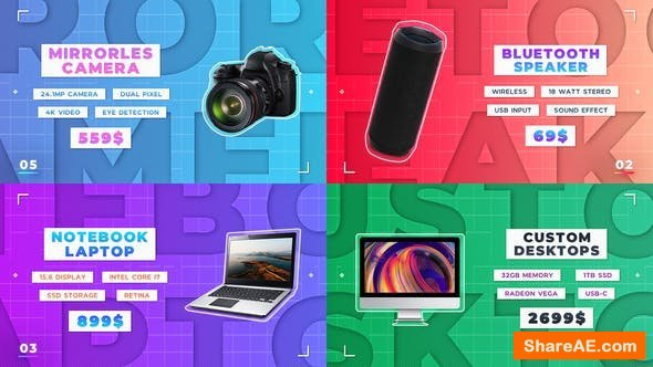 Videohive Online Product Presentation