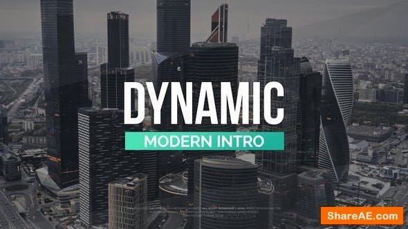 Videohive Modern Dynamic Intro 21994268
