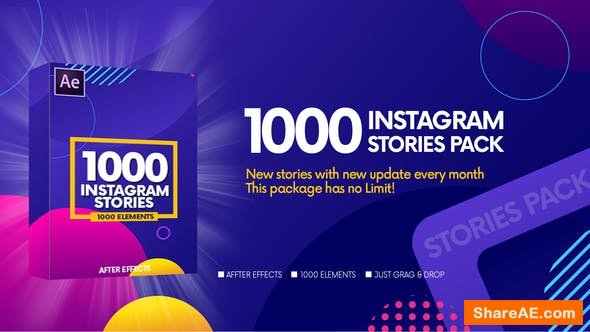 Videohive Instagram Stories v2 23458472