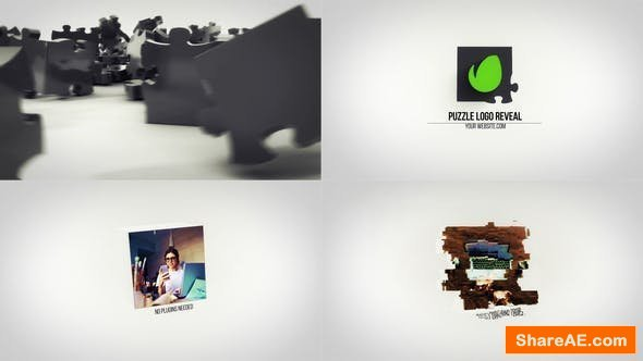 Videohive Puzzle Logo Reveal