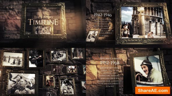 Videohive The History Slideshow 25025915