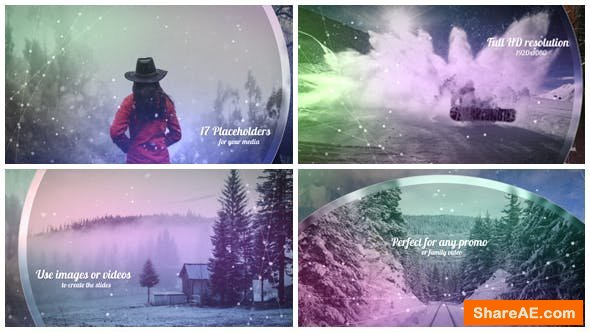 Videohive Christmas Opener / Winter Slideshow