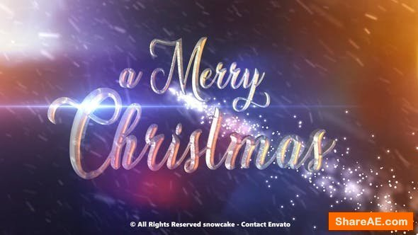 Videohive Christmas Is In The Air