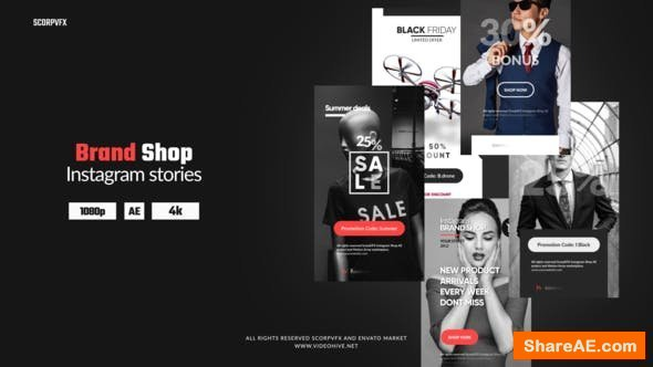Videohive Instagram Stories - Brand Shop