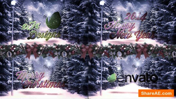 Videohive New Year & Christmas Logo Grettings