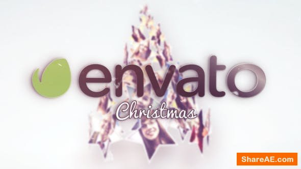 Videohive Christmas Stars Tree Greetings
