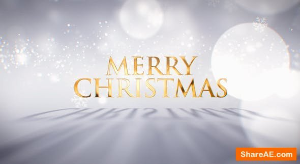 Videohive Bright Christmas Wishes