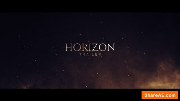 Videohive Horizon Trailer