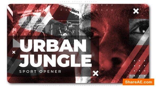 Videohive Urban Sport Opener