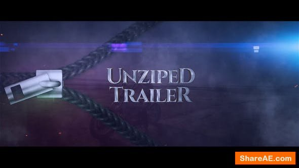 Videohive Unziped Trailer