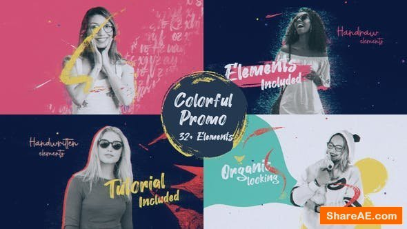 Videohive Colorful Paint Promo