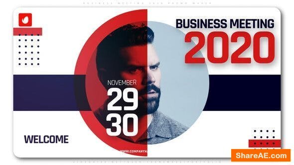 Videohive Business Meeting 2020 Promo Maker