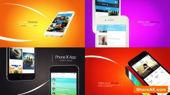 Videohive Phone 8 Modular App Intro