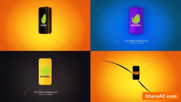 Videohive Phone Logo Reveal 23896333