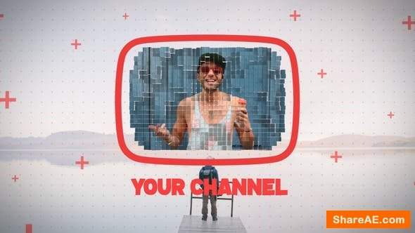 Videohive Mosaic Youtube Intro