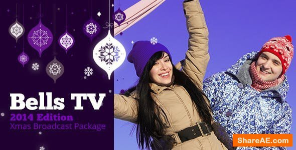 Videohive Christmas Bells TV Broadcast Package