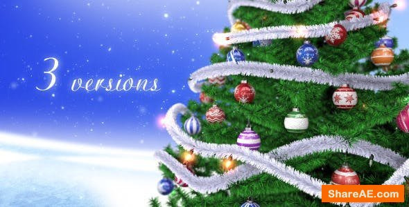 Videohive Christmas Tree 13682885