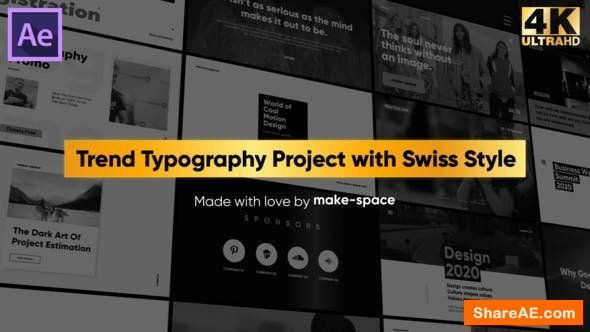 Videohive Swiss Typography Pack