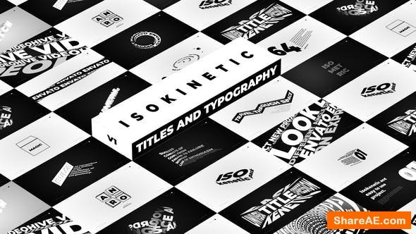 Videohive Isokinetic - Titles And Typography