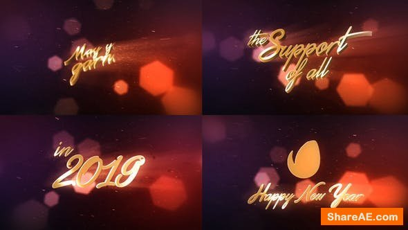 Videohive New Year Wishes | 3D Logo Text