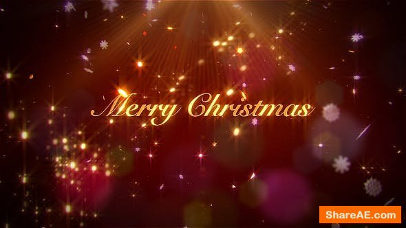 Videohive Elegant Christmas Wishes