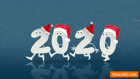 Videohive Christmas and New Year Opener