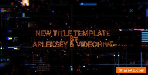 Videohive Digital Glitch Titles